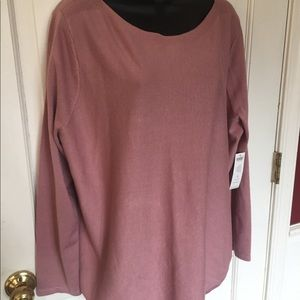 NWT Chico's lightweight sweater/blouse. Size 3.